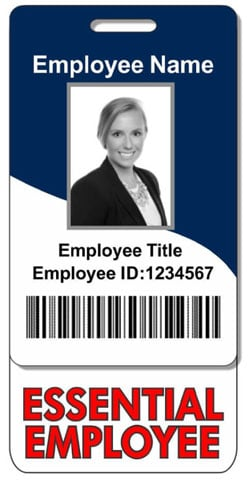 Essential Employee ID Cards are Durable Enough for Everyday Use